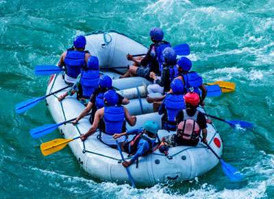 Best destinations for rafting and fishing in Nepal