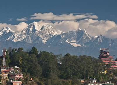 Kathmandu to reach Nagarkot from Thamel